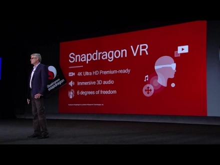 Embedded thumbnail for CES 2017 Qualcomm Keynote: A Vision for Our 5G Future